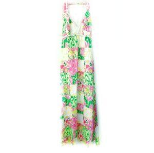 LILLY PULITZER Patchwork Print Maxi Dress